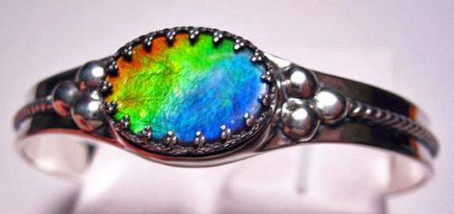 Ammolite Oval Bracelet 6SCB