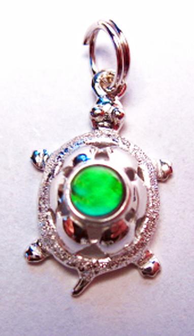 Korite Ammolite Turtle Charm 1KSC