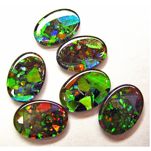 Mosaic Oval Loose Stone 14x10mm 1410MLS