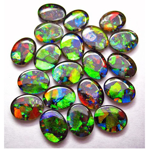 Mosaic Oval Loose Stone 9x7mm 0907MLS