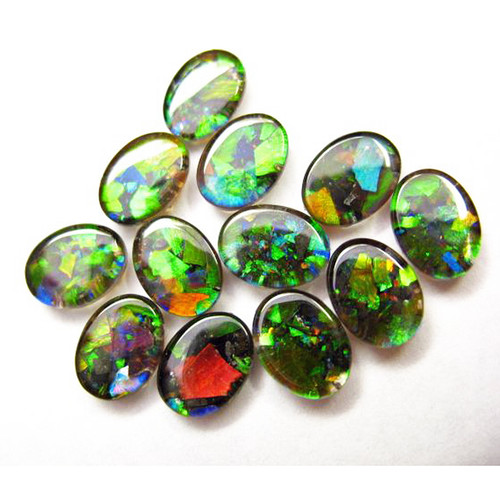 Mosaic Oval Loose Stone 8x6mm 0806MLS