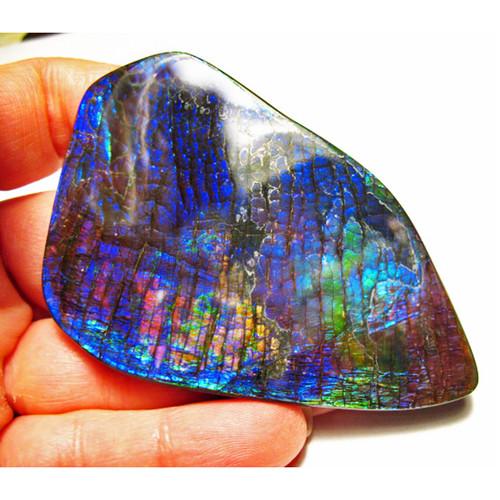 Ammolite Large Polished Hand Specimen 2LHPLS