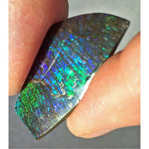 Ammolite Natural Polished Loose Stone Freeform 26HPLS