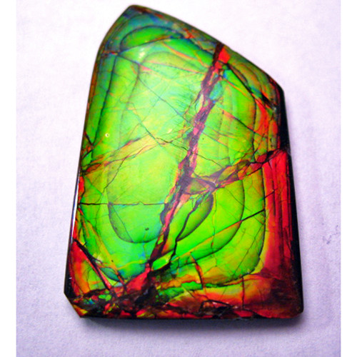 Ammolite Natural Polished Loose Stone Freeform 28HPLS