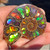 Ammolite Inlayed Ammonite 2AIA