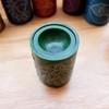 Green Heart Chakra Soapstone Oil Burner