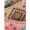 Rectangular Embroidered Stone Wash Cushion Grey