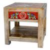 Bedside or Lamp Table Elephant Design