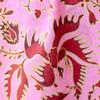 Pink Batik Printed Sarong Gold Bird Detail