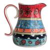 Colourful Hand Painted Ceramic Jug
