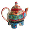 Hand Painted Elephant Tea Pot