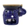 Elephant Oil Burner Blue