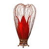 Small Tulip Lamp Red