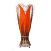 Large Tulip Lamp Orange