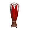 Large Tulip Lamp Red