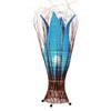 Large Tulip Lamp Turquoise