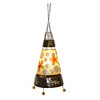 Cone Lamp With Capiz Shell
