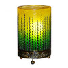 Green Wave Design Table Lamp