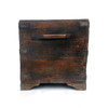 Old Indian Trunk With Wooden Handles