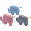 Elephant Shaped Pastel Door Knob