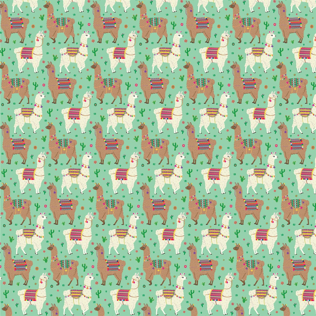 lima llama wrapping paper sass belle present company
