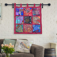 Our Beautiful Fabric Wall Hangings from India - The Perfect Bohemian Addition to your Home!