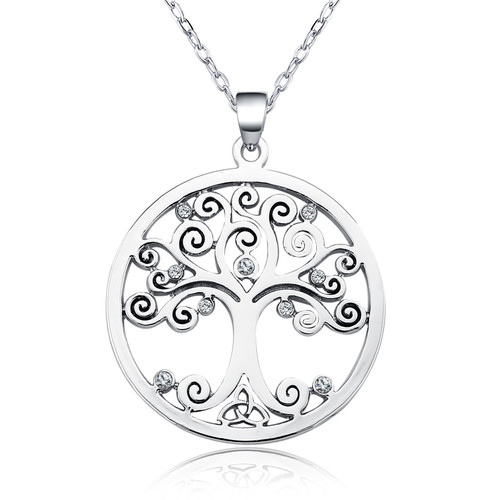 Tree of Life Pendant on Chain