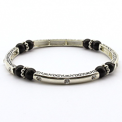 Crystal Elements Magnetic Bracelet