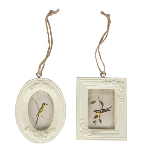Cream Mini Hanging Photo Frame