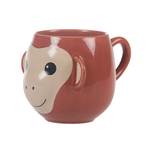 Treetop Friends Happy Monkey Mug