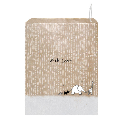Paper Gift Bag - With Love
