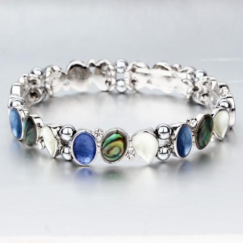 Ivory Teardrops Magnetic Bracelet
