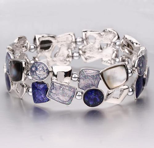 Violet Sparkle Magnetic Bracelet