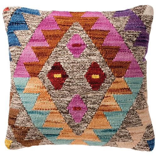 Aztec Diamond Kilim Cushion