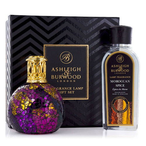 Lamp Gift Set - Magenta Crush with Moroccan Spice