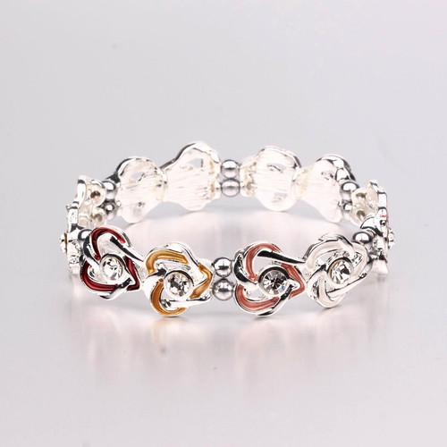 Double Hearts Magnetic Bracelet