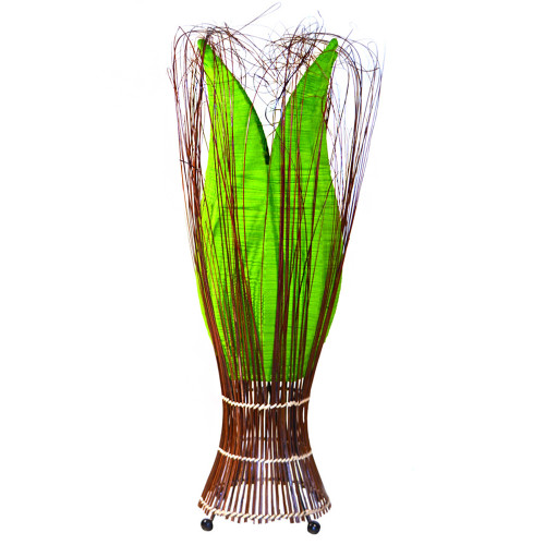 Large Tulip Lamp Lime