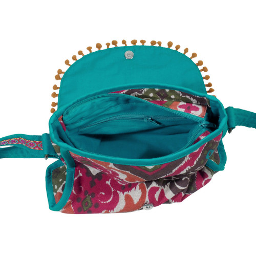 Elephant Shoulder Bag - Teal