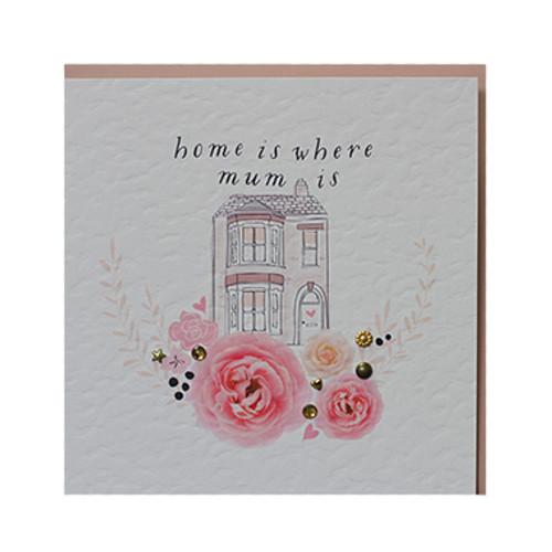 Home Is Where Mum Card