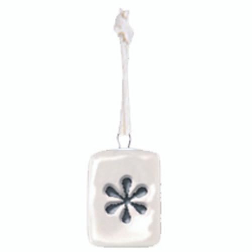 Porcelain Mini Flower Tag
