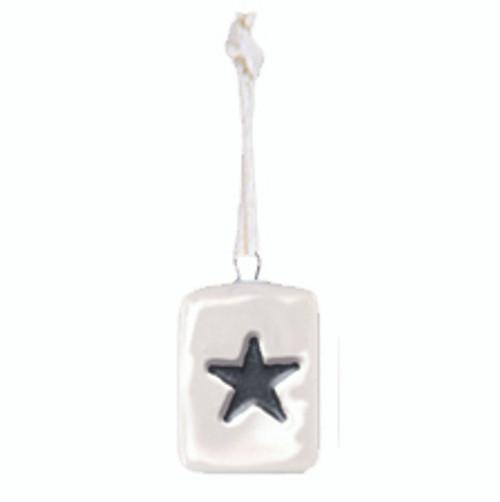 Porcelain Mini Star Tag