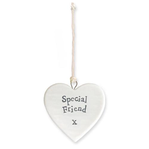 """Porcelain Heart """"Special Friend"""""""