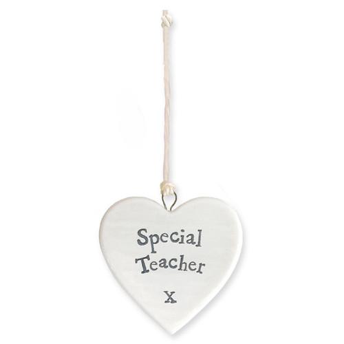 """Porcelain Heart """"Special Teacher """""""