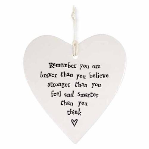 "Porcelain Heart ""Remember You Are Braver """