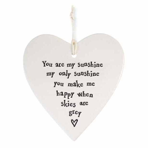 """Porcelain Heart """"You are My Sunshine"""""""