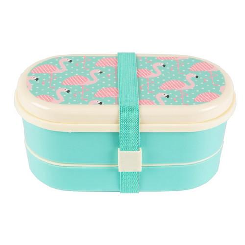 Pink Flamingo Bento Lunchbox