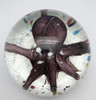 Octopus Paperweight/Hand Blown Glass/Seaside Decor