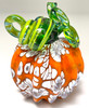Mini Pumpkin - Orange with Large Speckles of White