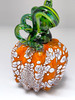 Mini Pumpkin - Orange with Larger Speckles of White