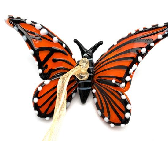 Monarch Glass Butterfly